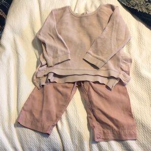 Zara toddler girl outfit